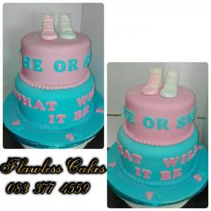 anisha baby shower cake