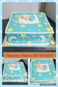 baby shower cake  brickhill