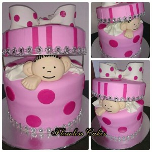 jabu baby shower cake