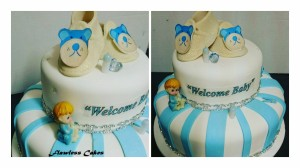 prishani baby shower cake