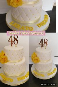 48th birthday cake