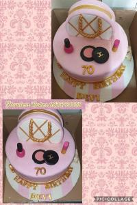 79th birthday cake