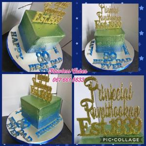 80th birthday cake Rambhookan