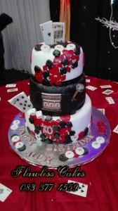 judy 70th birthday cake