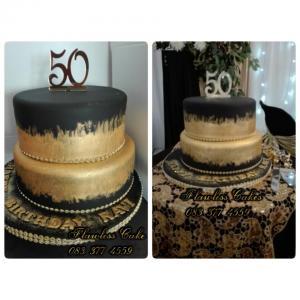 ravi 50th birthday cake