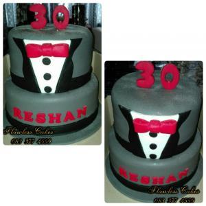 reshan birthday cake