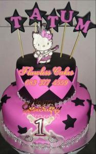 tatum hello kitty cake