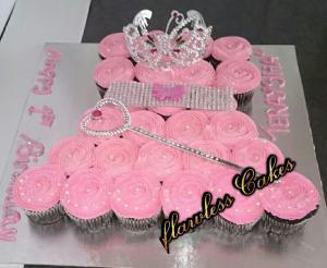 teraysha cupcake cake