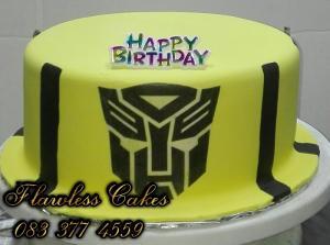 transfomer cake