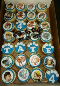 tate paw patrol cupcakes