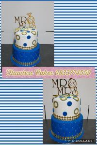 kim brother wedding cake