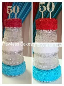 50th Anniversary Cake @ Chatsworth