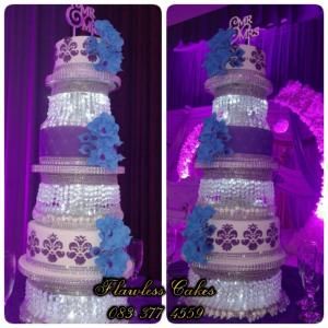 evandrea wedding cake