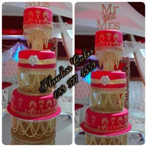 pauline wedding cake